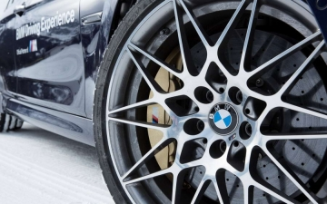 BMW winter driving experience 16