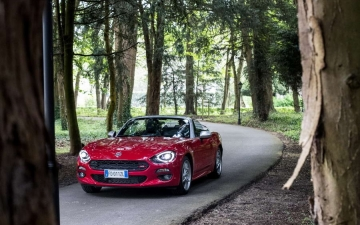 Fiat 124 Spider sweeps France 21