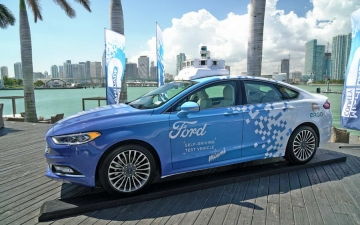 Autonomus delivery Ford 22