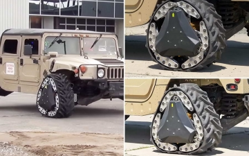 DARPA Reconfigurable Wheel 11
