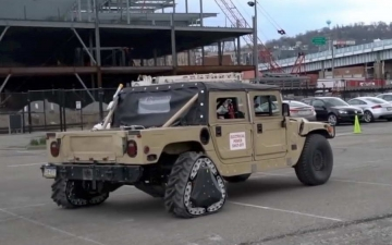 DARPA Reconfigurable Wheel 15