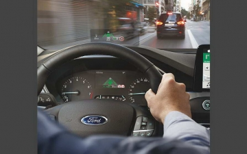 Ford Focus head up display 260618