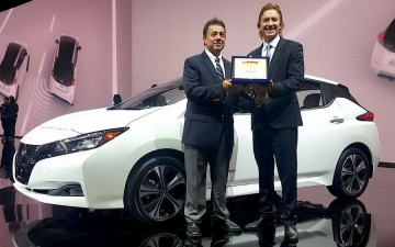 Nissan LEAF Award 230118