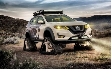 Nissan Rogue Trail Warrior Project 130417