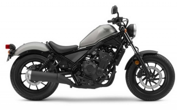 Honda Rebel Teaser