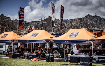 Bivouac Red Bull KTM Factory Racing Dakar 2017 20 10