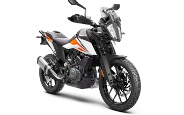 KTM 390 ADVENTURE MY20 White - front-right