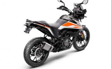 KTM 390 ADVENTURE MY20 White - rear-right