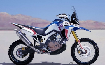Africa Twin Enduro Sports Concept 01