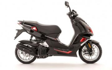 Speedfight 4 125cc Safran Red 02